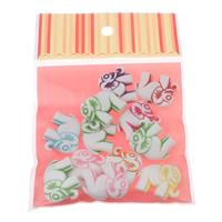 Chemische Wash Acryl Perlen, mit OPP, Elephant, verschiedene Größen vorhanden & chemische-Waschanlagen, gemischte Farben, verkauft von Tasche
