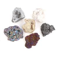 Druzy Beads, Natürlicher Quarz, natürlich, druzy Stil & kein Loch, keine, 45x40x44mm-62x52x36mm, verkauft von PC