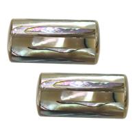 Seeohr Muschelperlen, Zylinder, natürlich, 22x10x10mm, Bohrung:ca. 2mm, 5PCs/Menge, verkauft von Menge