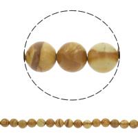 Grain Stein Perle, rund, synthetisch, verschiedene Größen vorhanden, blau, Bohrung:ca. 1mm, verkauft per ca. 15.5 ZollInch Strang
