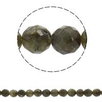 Labradorit Perlen, rund, synthetisch, verschiedene Größen vorhanden & facettierte, Bohrung:ca. 1mm, verkauft per ca. 15 ZollInch Strang