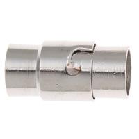 Messing Magnetverschluss, Platinfarbe platiniert, verschiedene Größen vorhanden, frei von Nickel, Blei & Kadmium, verkauft von PC