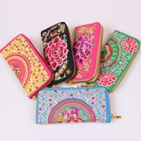Seide Geldtasche, mit Eisen, Rechteck, gemischte Farben, 190x90x20mm, 10PCs/Tasche, verkauft von Tasche