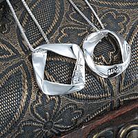 925 Sterling Silber Anhänger, Wort mit Ihnen, verschiedene Stile für Wahl & mit Brief Muster, Bohrung:ca. 10-15mm, 2PCs/Menge, verkauft von Menge