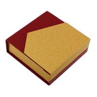 Karton Armbandkasten, mit Schwamm, Quadrat, 95x32x95mm, 24PCs/Menge, verkauft von Menge