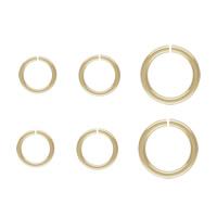 gold-gefüllt geöffneter Biegering, Kreisring, 14K gefüllt & verschiedene Größen vorhanden, frei von Nickel, Blei & Kadmium, verkauft von PC