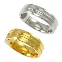 Edelstahl Ringe, plattiert, verschiedene Größen vorhanden, keine, 6mm, 10PCs/Menge, verkauft von Menge