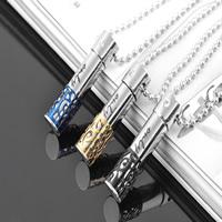 Titanstahl Halskette, Parfümflasche, plattiert, verschiedene Größen vorhanden, keine, verkauft von PC