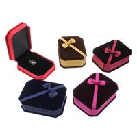 Baumwollsamt hängender Kasten, mit Karton & Nylon, Rechteck, keine, 75x100x35mm, verkauft von PC