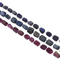 Druzy Beads, Eisquarz Achat, natürlich, druzy Stil, keine, 14x12x8-16x12x10mm, Bohrung:ca. 1mm, 20PCs/Strang, verkauft per ca. 14.5 ZollInch Strang