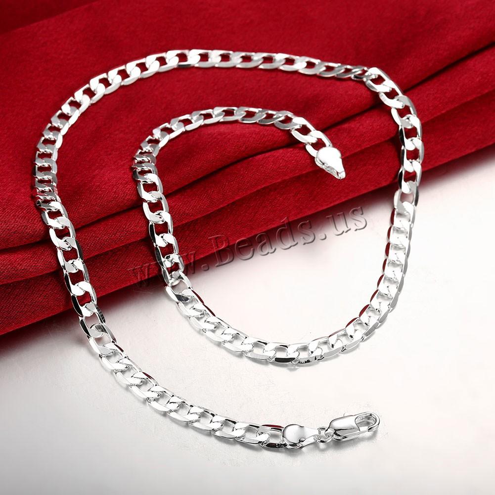 Серебряная цепочка в подарок 49