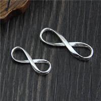 925 Sterlingsilber Schmuckverbinder, 925 Sterling Silber, Unendliche, verschiedene Größen vorhanden & 1/1-Schleife, verkauft von Menge