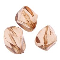 Transparente Acryl-Perlen, Acryl, orange, 13x17mm, Bohrung:ca. 1mm, ca. 333PCs/Tasche, verkauft von Tasche