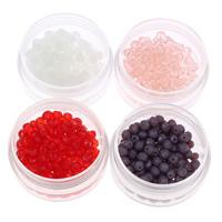 Rondell Kristallperlen, Kristall, facettierte, mehrere Farben vorhanden, 4x3mm, Bohrung:ca. 1mm, 150PCs/Tasche, verkauft von Tasche