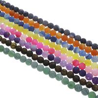 Auswitterung Achat Perle, rund, verschiedene Größen vorhanden, keine, Bohrung:ca. 1.5mm, verkauft per ca. 14.5 ZollInch Strang