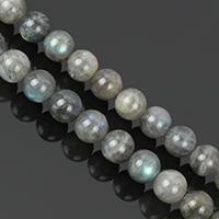 Labradorit Perlen, rund, natürlich, verschiedene Größen vorhanden, Klasse AA, Bohrung:ca. 1-2mm, Länge:ca. 15.5 ZollInch, verkauft von Menge