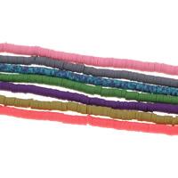 Polymer Ton Perlen , keine, 5x1mm, Bohrung:ca. 1.5mm, 10SträngeStrang/Tasche, ca. 310PCs/Strang, verkauft von Tasche