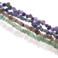 Edelstein-Span, Edelstein, Klumpen, verschiedenen Materialien für die Wahl, Grad AAA, 10x15mm-19x22mm, Bohrung:ca. 1mm, ca. 35PCs/Strang, verkauft per 15 ZollInch Strang