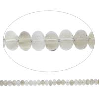 Natürliche Rauchquarz Perlen, Rondell, Grad AAA, 9x6mm, Bohrung:ca. 1.5mm, ca. 115PCs/Strang, verkauft per ca. 15 ZollInch Strang