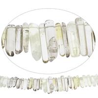 Natürliche Rauchquarz Perlen, Grad AAA, 4x20mm-11x42mm, Bohrung:ca. 2mm, ca. 60PCs/Strang, verkauft per ca. 15 ZollInch Strang