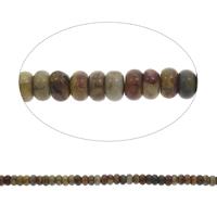 Natürliche Indian Achat Perlen, Indischer Achat, Rondell, 9x5mm, Bohrung:ca. 1mm, ca. 80PCs/Strang, verkauft per ca. 15 ZollInch Strang