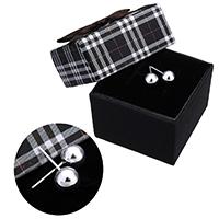 kiss me® Schmuck Ohrring, 925 Sterling Silber, mit Karton-box, rund, ohne Ohrmutter, 7x18mm, 0.7mm, verkauft von Paar