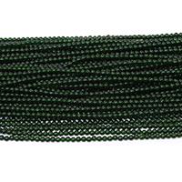 Grüne Goldstein Perlen, grüner Goldsandstein, rund, natürlich, verschiedene Größen vorhanden, Bohrung:ca. 0.5mm, Länge:ca. 15.5 ZollInch, verkauft von Menge