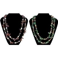 Natürliche Süßwasser Perle Halskette, Natürliche kultivierte Süßwasserperlen, keine, 9-10mm, verkauft per ca. 46 ZollInch Strang