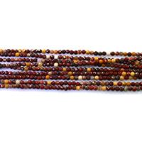 Dotter Stein Perlen, rund, natürlich, verschiedene Größen vorhanden & facettierte, Länge:ca. 15.5 ZollInch, verkauft von Menge
