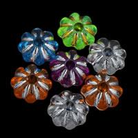 Gemischte Acrylperlen, Acryl, transparent, 6x3mm, Bohrung:ca. 1mm, ca. 8000PCs/Tasche, verkauft von Tasche
