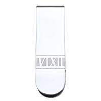 Mode-Geld-Clip, Edelstahl, originale Farbe, 16x52x6mm, verkauft von PC