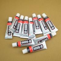 Super-Klebstoff, Gummi, mit Aluminium, mit Brief Muster, 19.5cm, 5PCs/Tasche, verkauft von Tasche