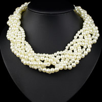 ABS-Kunststoff-Perlen Halskette, 450mm, verkauft per ca. 17.5 ZollInch Strang
