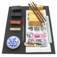 Ferronickel Schmuckwerkzeug Set, mit Oxford & Porzellan & Jade & Holz, 145mm, 50mm, verkauft von setzen