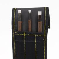 Ferronickel Schnitzender Messer-Satz, mit Gewachste Hanfschnur & Oxford, 145mm, verkauft von setzen