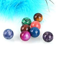 Edelstein Schmuckperlen, rund, natürlich, verschiedenen Materialien für die Wahl & kein Loch, 16mm, verkauft von PC
