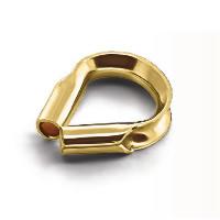 gold-gefüllt Fadenschutz, 14 K vergoldet, verschiedene Größen vorhanden, 20PCs/Menge, verkauft von Menge