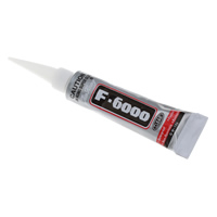 Super-Klebstoff, Gummi, mit Kunststoff, mit Brief Muster, 23x75x16mm, 10g, verkauft von PC
