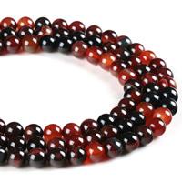 Natürliche traumhafte Achat Perlen, Traumhafter Achat, rund, verschiedene Größen vorhanden, Bohrung:ca. 1mm, verkauft per ca. 15.5 ZollInch Strang