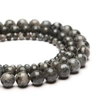 Labradorit Perle, rund, synthetisch, verschiedene Größen vorhanden, Bohrung:ca. 1mm, verkauft per ca. 15 ZollInch Strang