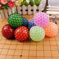 Silikon Ausdruck Stress Entspannung Ball, mit Nylonschnur, rund, keine, 60-65mm, verkauft von PC