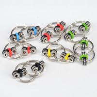 Finger Hand Spinner Gyroskop, Zinklegierung, mit Silikon, plattiert, keine, frei von Nickel, Blei & Kadmium, 30mm, verkauft von PC