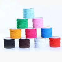 Kristall Faden, elastische Nylonschnur, mit Kunststoffspule, elastisch, keine, 1mm, 2PCs/Tasche, 50m/PC, verkauft von Tasche