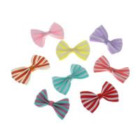 Mode Dekoration Blumen, Ripsband, Schleife, keine, 38x24x5mm, 500PCs/Tasche, verkauft von Tasche