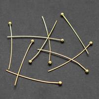 Eisen Kopfstifte, plattiert, verschiedene Größen vorhanden, keine, frei von Blei & Kadmium, 1000PCs/Tasche, verkauft von Tasche