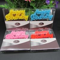 Paraffin Kerzen, Buchstabe, keine, 85x41mm, 4PCs/Tasche, verkauft von Tasche