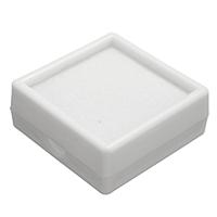 Karton mit Schwamm, Quadrat, weiß, 41x41x16mm, 48PCs/Tasche, verkauft von Tasche