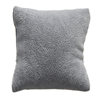 Baumwollsamt Schmuckständer Kissen, mit Schwamm, Rechteck, grau, 50-70x60-80x40-60mm, 20PCs/Tasche, verkauft von Tasche