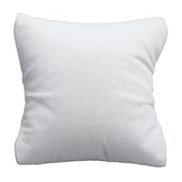 Baumwollsamt Schmuckständer Kissen, mit Schwamm, Rechteck, weiß, 60-80x60-80x40-60mm, 20PCs/Tasche, verkauft von Tasche