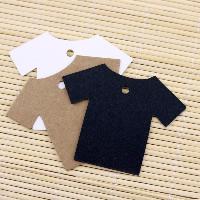 Kraftpapier Label- Tag, Bekleidung, keine, 55x70mm, 100PCs/Menge, verkauft von Menge